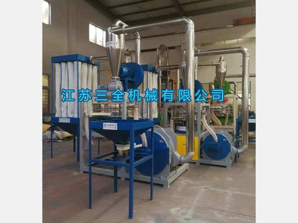 PVC刀盘式磨粉机